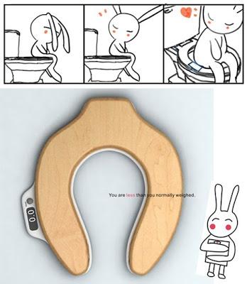 Taza del WC báscula