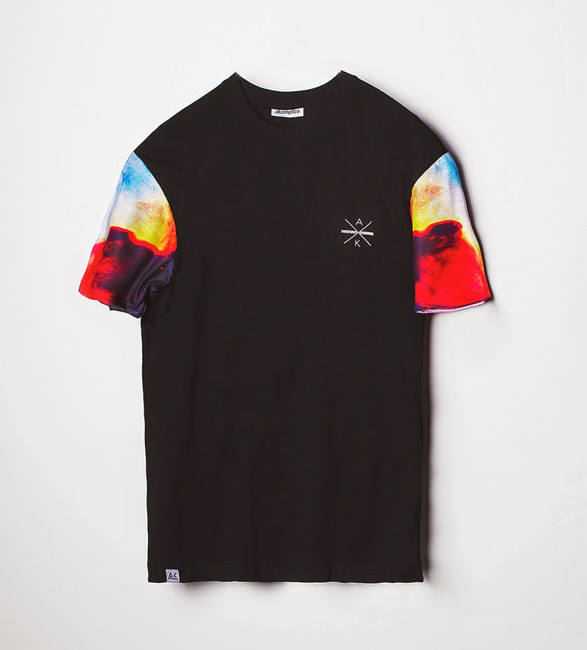 Thirdround Clothing - Akomplice Nebula Sleeve Tee