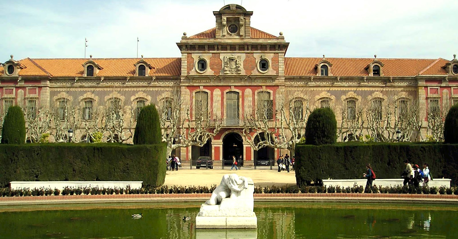 Top 6 Parks in Barcelona - Parliament of Catalonia in Parc de la Ciutadella