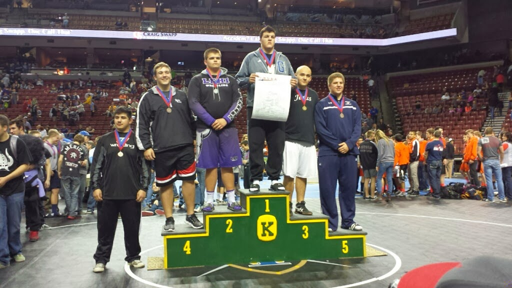 5A 285 Results - 2nd Place - Brackin Stringam of Lehi