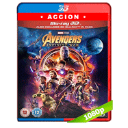 Avengers: Infinity War (2018) 3D SBS 1080p Audio Dual Latino-Ingles
