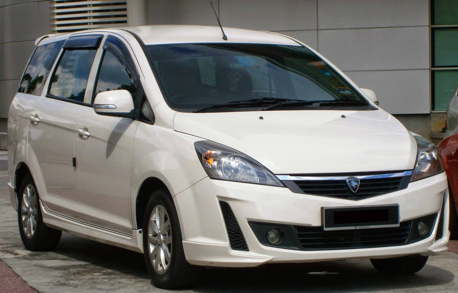 Proton Exora, Malaysia's first 7-seat MPV.