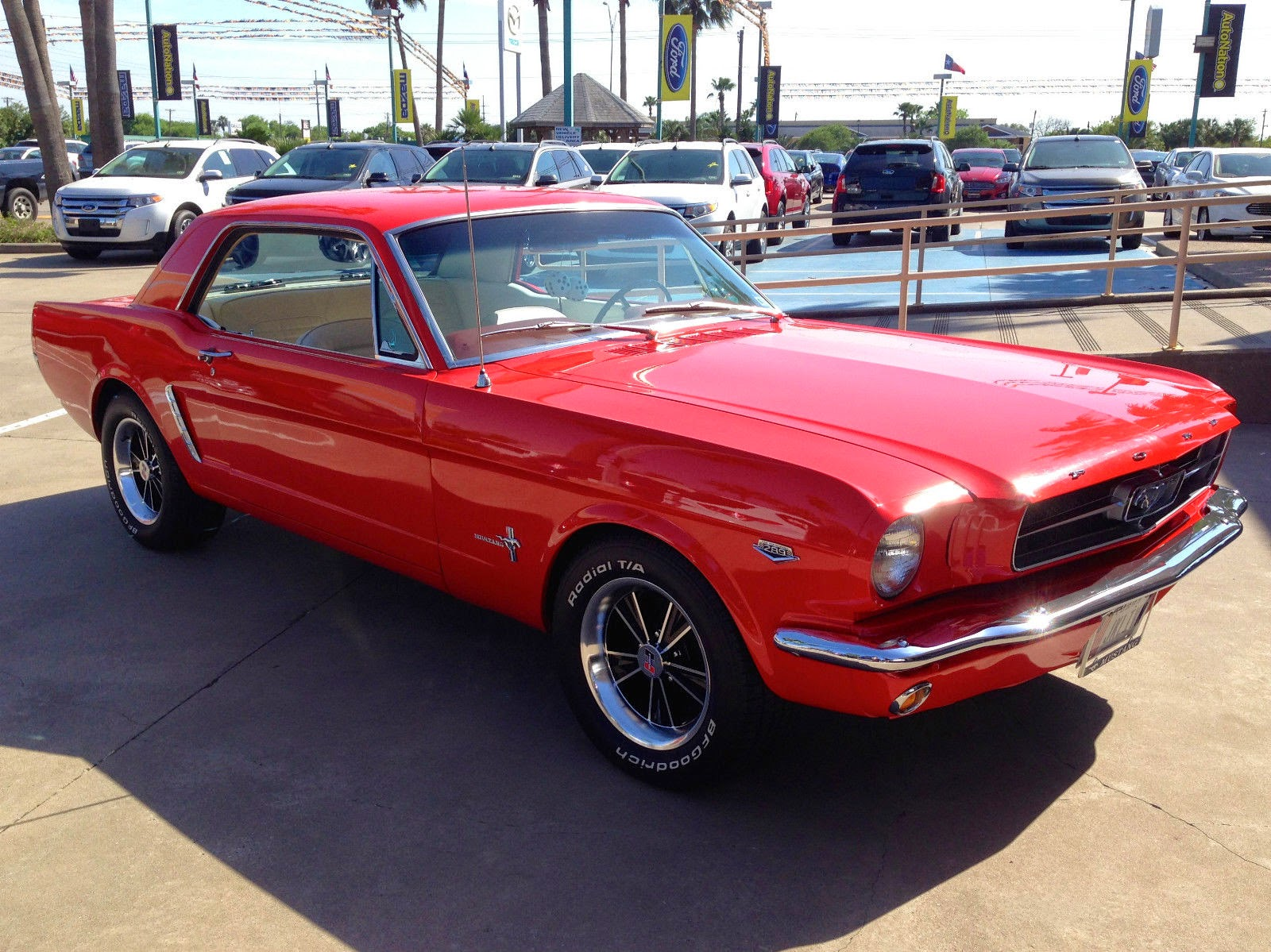 1965 Ford Mustang Base Gt 4 7l 289 4 Spd Coupe For Sale
