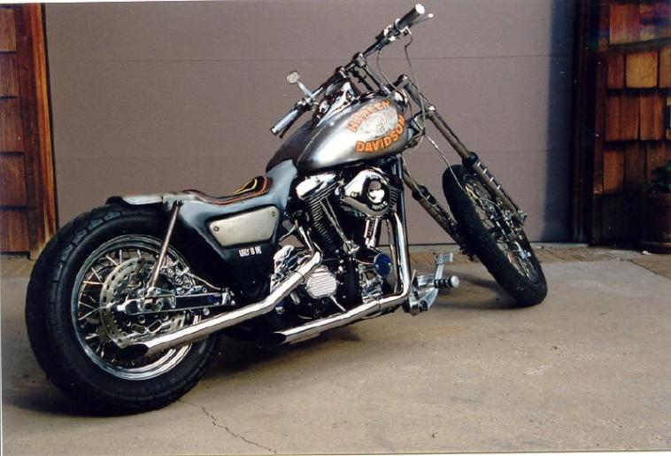 Harley-Davidson and the Marlboro Man Chopper