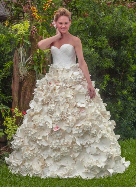 Carol Touchstone Toilet Paper Wedding Dress