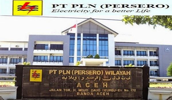 PT PEMBANGKIT LISTRIK NEGARA (PLN PERSERO) : OPERATOR PEMBANGKIT, DISTRIBUSI, TEKNISI TRANMISI, TEKNISI DISTRIBUSI - BUMN, ACEH INDONESIA