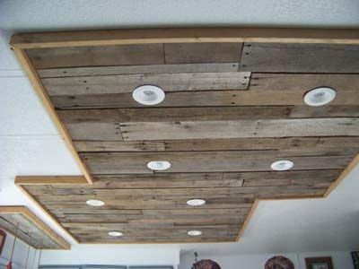 Iluminaci n en una cocina hecha con - Que hacer con los palets ...