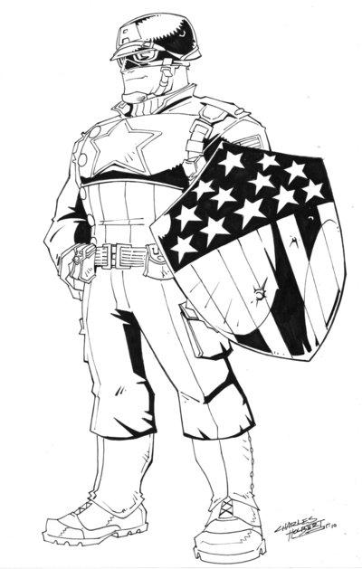 WWII Captain America cs por KidNotorious