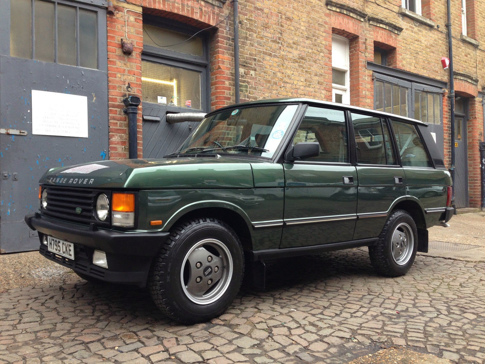 1990 land rover range rover vogue auto restorationice. Black Bedroom Furniture Sets. Home Design Ideas