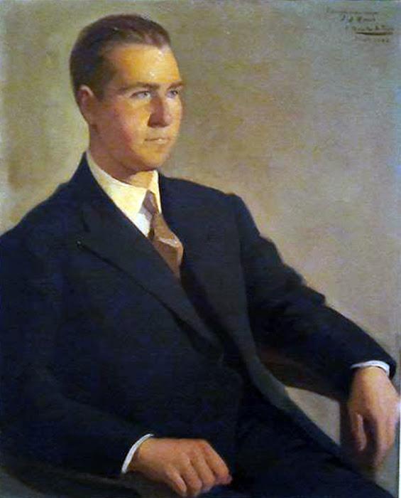 Retrato de Juan Antonio Rando, Félix Revello de Toro, Retratos de Revello de Toro, Pintor español
