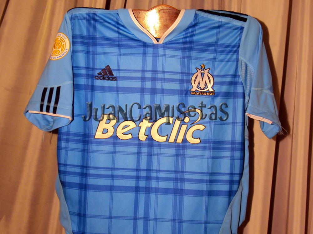 comprar camiseta Olympique de Marseille manga larga