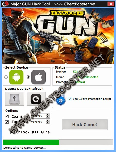 Major Gun Download Hack Tool