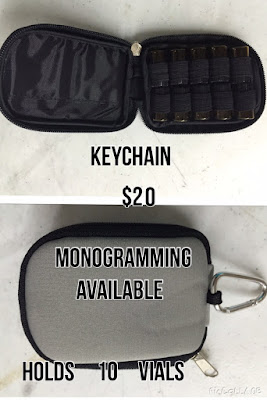 10 Vial Keychain Case