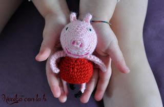 Herika con la h - Amigurumi Peppa Pig uncinetto