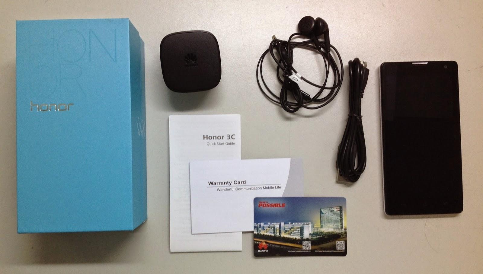 kotak Huawei Honor 3C