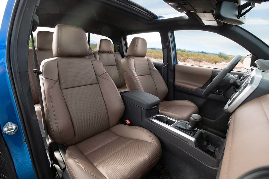 Toyota Tacoma Limited Double Cab (2016) Interior