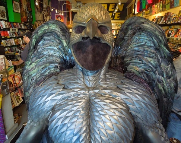 Birdman costume cowl
