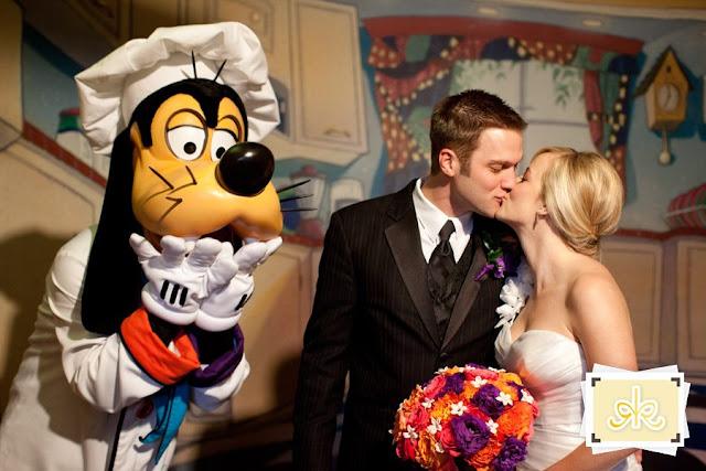 Disneyland Hotel Wedding: Kristie + Dario
