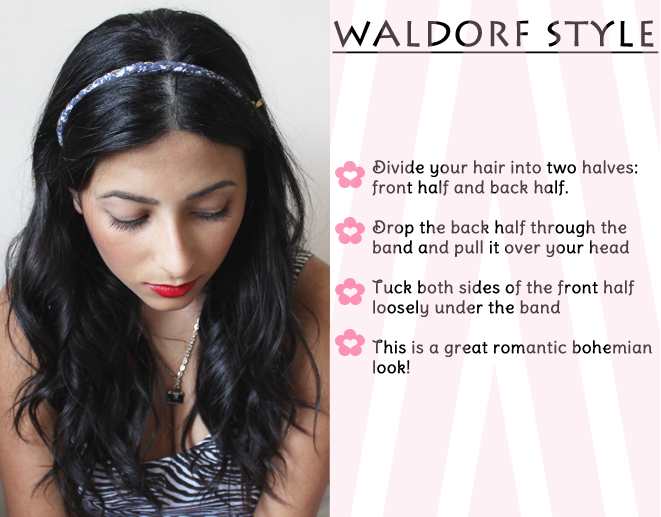 How To Use Headband Styler Celebrity Style Headbands