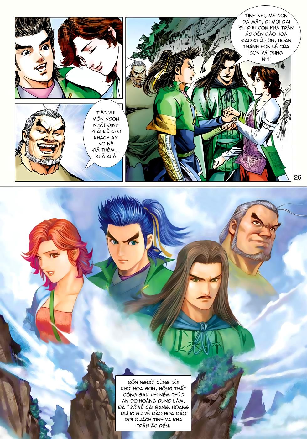 Xạ Điêu Anh Hùng Truyện chap 100 – End Trang 26 - Mangak.info