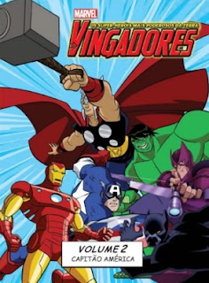 Os Vingadores: Vol. 2 Capitão América – Dublado
