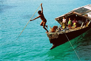 Sea gypsy in the Myeik Archipelago