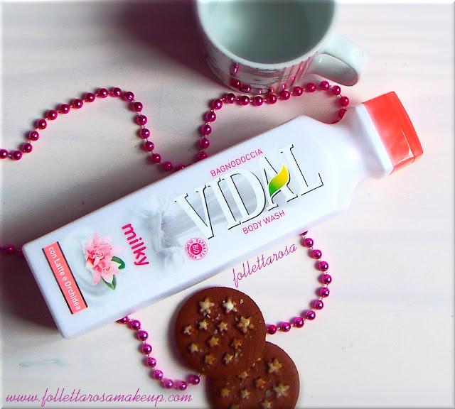 bagnodoccia vidal milky