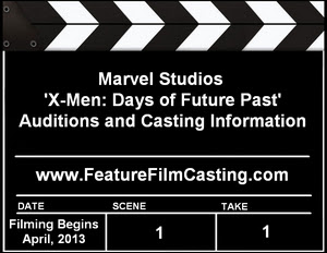 X-Men: Days of Future Past Auditions Casting Calls