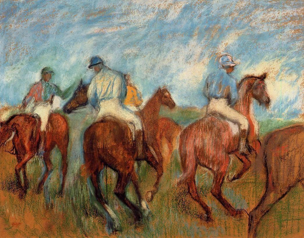 Jockeys c. 1900