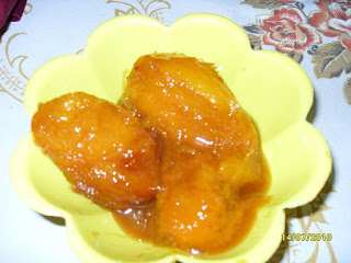 Receta de mangos en almibar