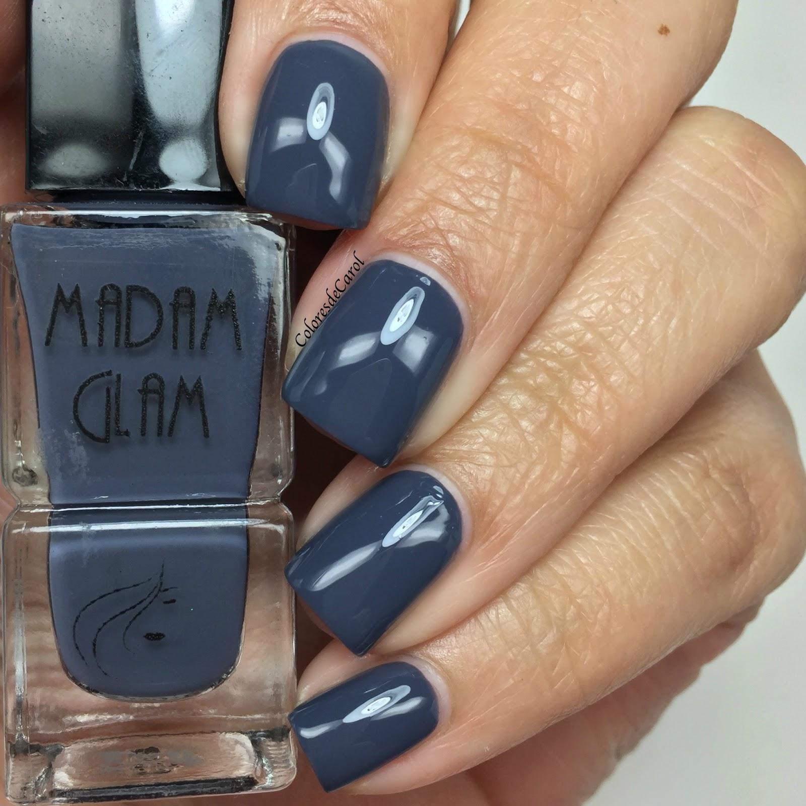 Colores de Carol: Madam Glam Nail Polish Swatches and Review