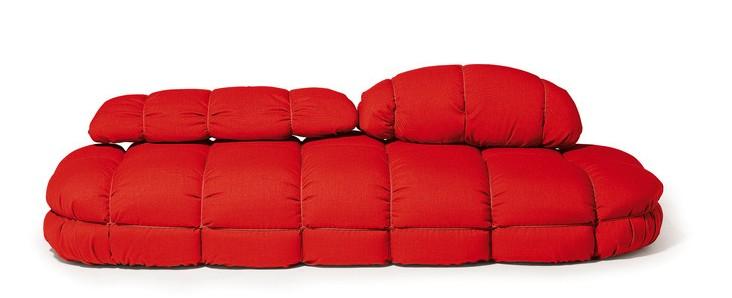 La cerise et le design le canap sack de marc sadler - Canape gros coussins ...