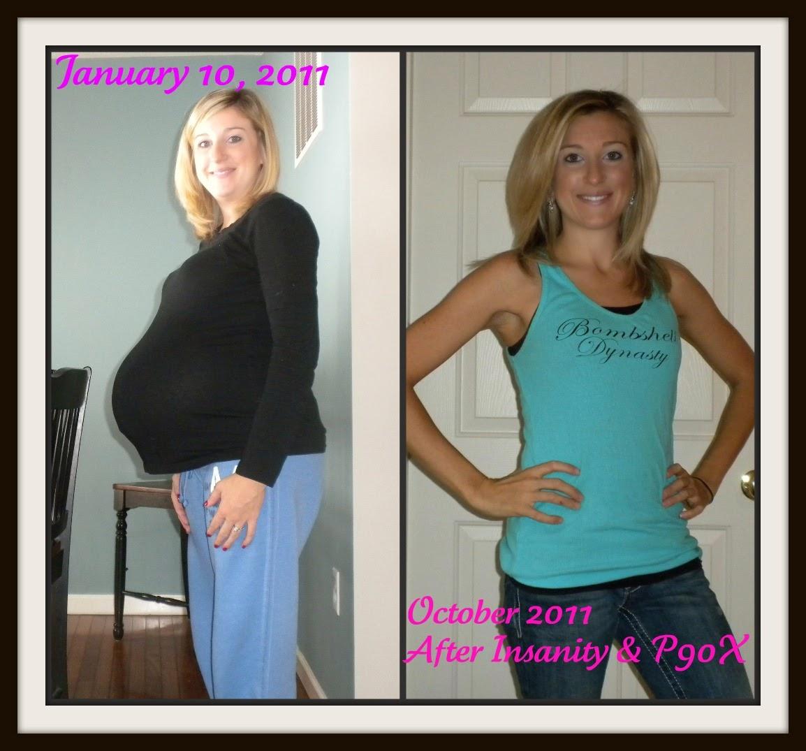 Womens Transformation Pictures, Insanity, Melanie Mitro, P90X, Shakeology, Workouts