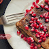 Chocolate Crêpe Suzette with Pomegranate