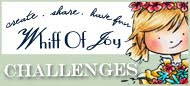Proud to be a DT member in the Whiff of Joy Challenge Team