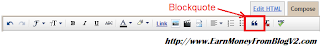 Blogger Customization Blockqoute