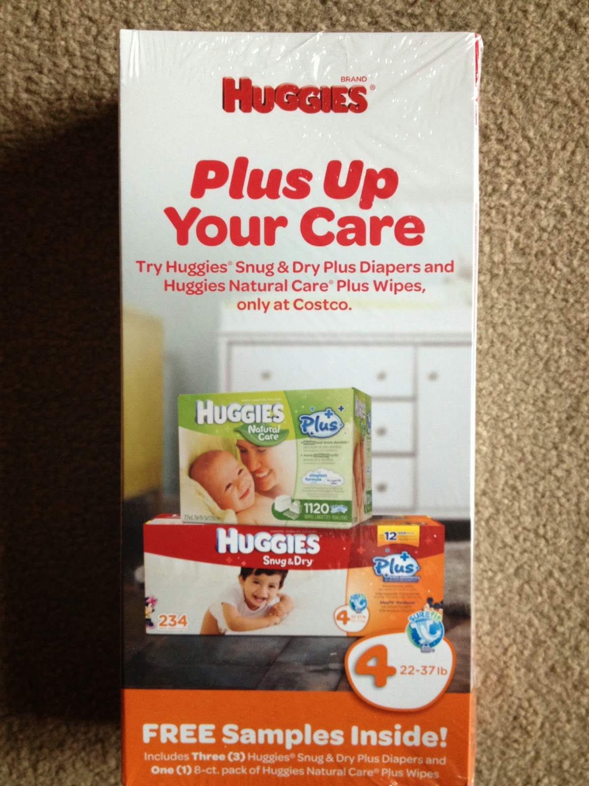 Reviews From Mom: Costco Huggies® Snug & Dry Plus Diapers and ...