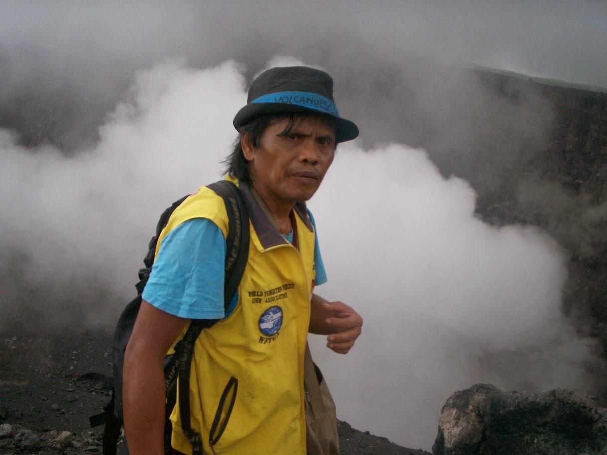 sulawesi lokon volcano guide jotje lala