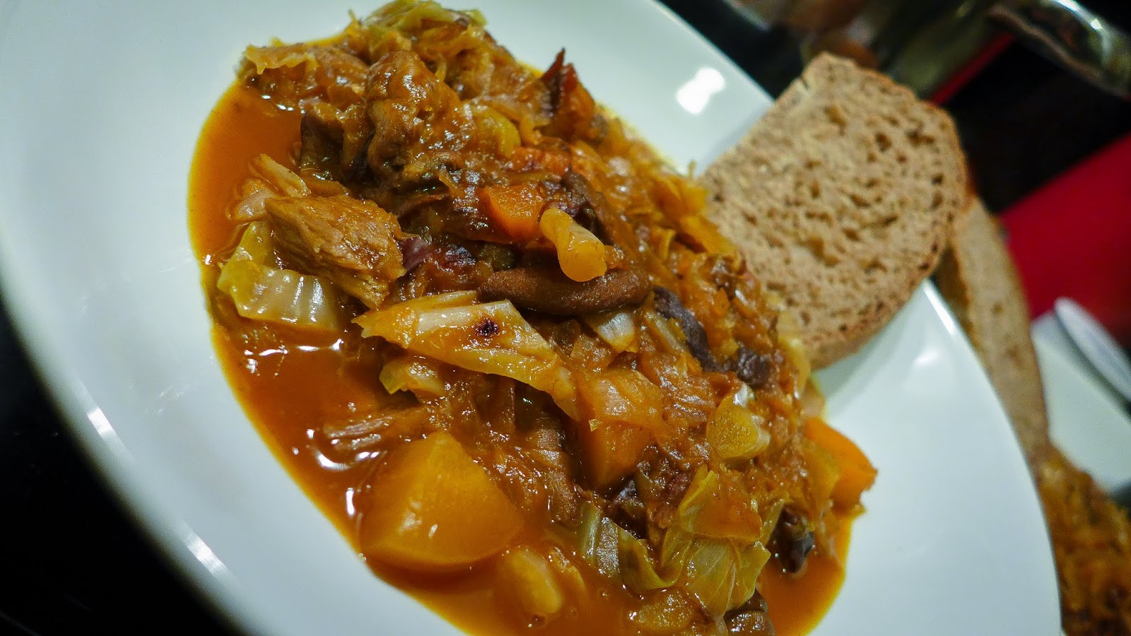 Patchy Growth: Recipe: Bigos (Polish Hunter's Stew)