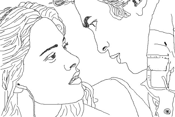 robert pattinson kristen stewart coloring pages edward and bella pictures