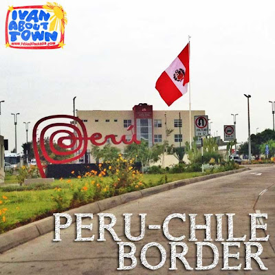 Tacna Peru Arica Chile Border Crossing