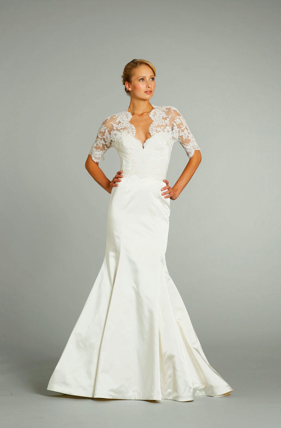 Cheap Wedding Dresses With Sleeves Design Concept Photos HD