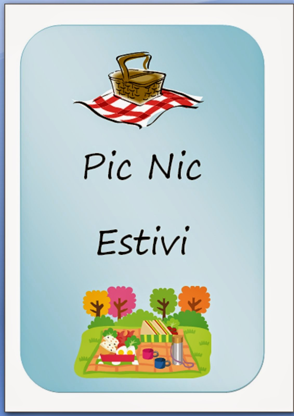 Scarica Gratuitamente il nuovo libro Picnic Estivi