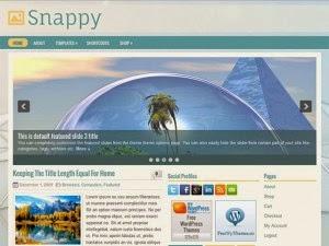 Snappy - Free Wordpress Theme