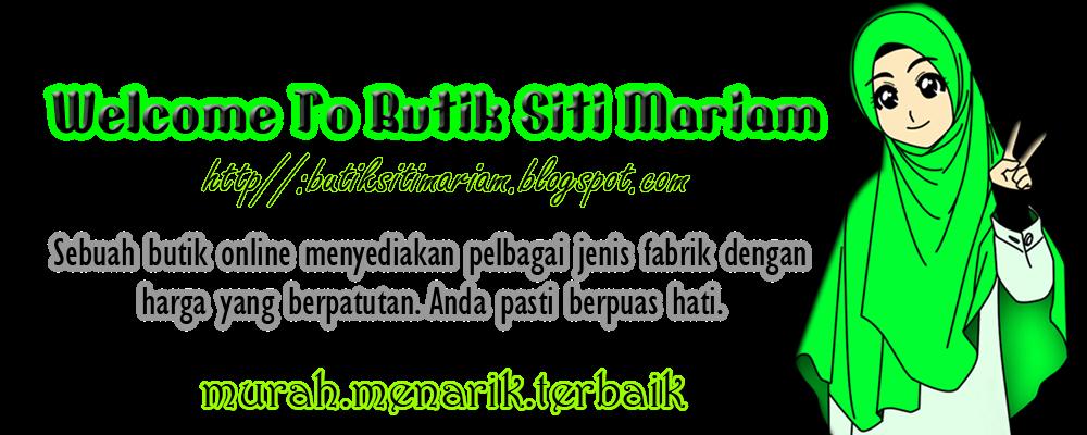 Butik Siti Mariam