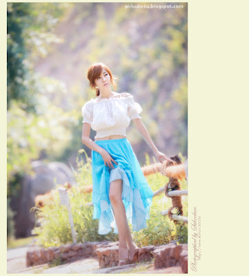6 Choi Byeol Yee-Legs Show Off-very cute asian girl-girlcute4u.blogspot.com