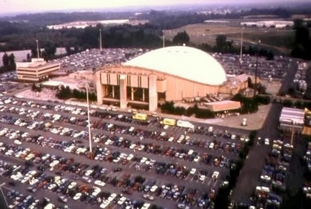 The Capitals' Landover, Md. home from 1974-1997