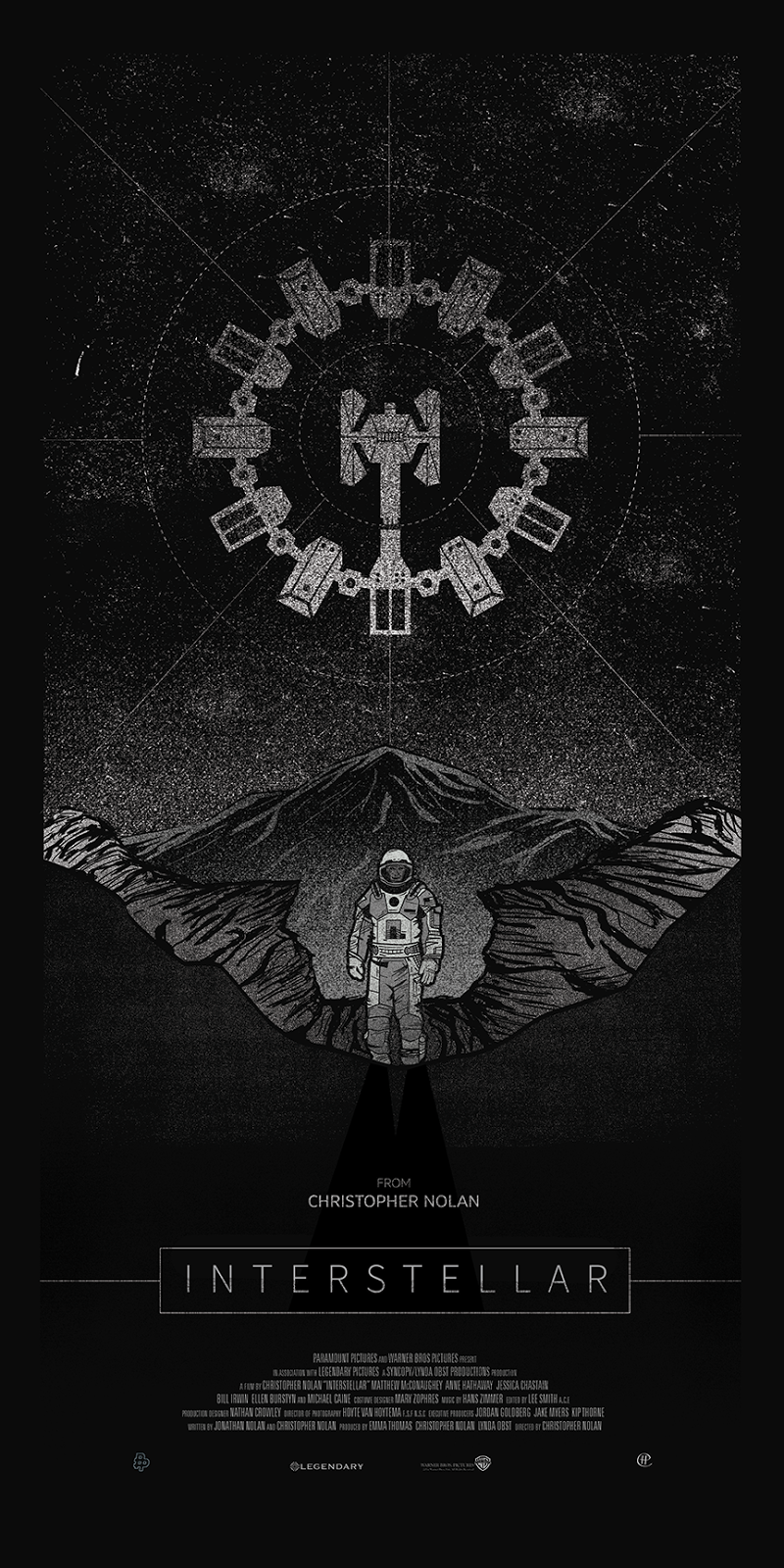 Interstellar Poster Geek Art Gallery: Post...