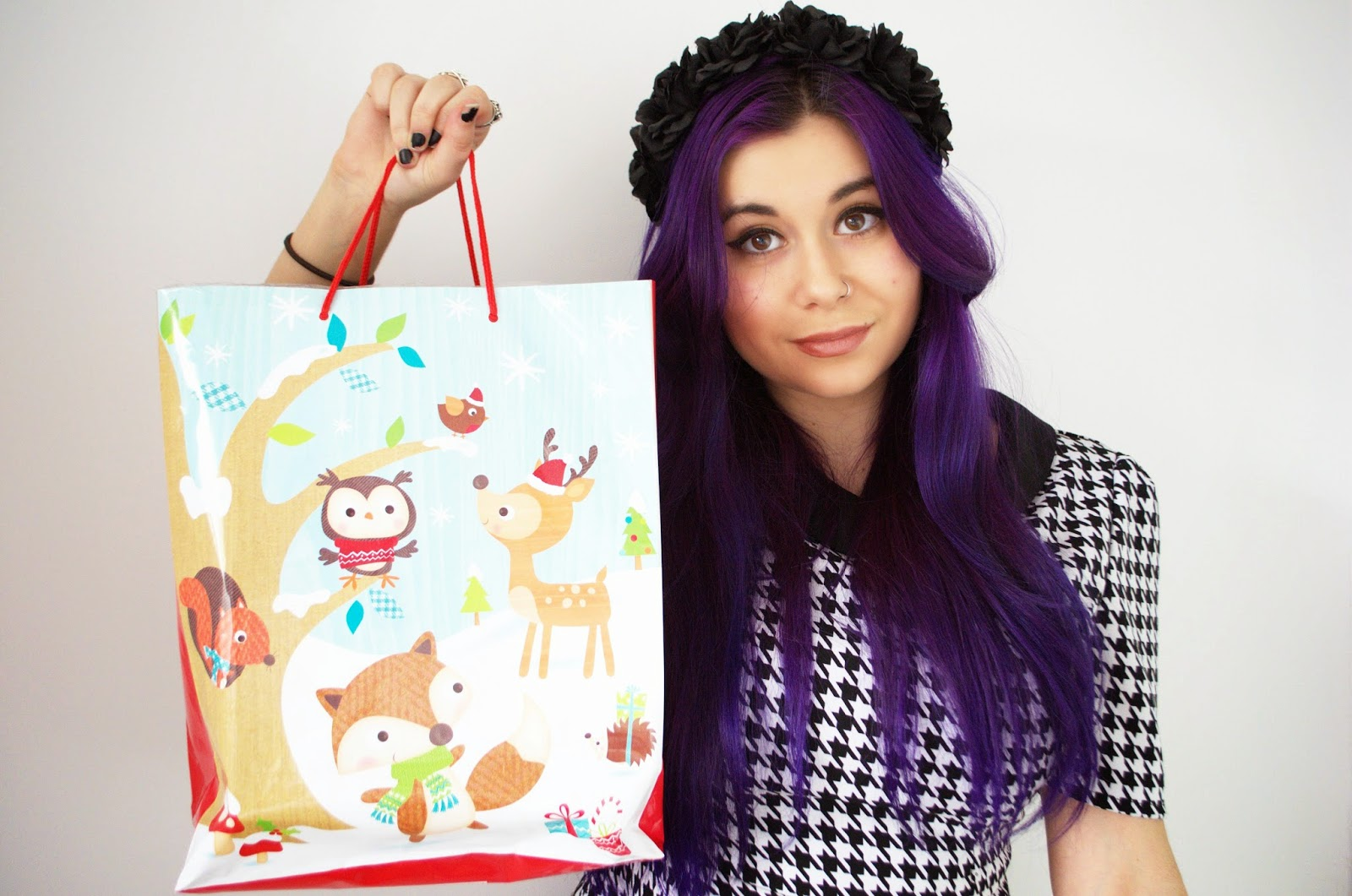 Christmas Gift Ideas. Purple Hair. Christmas Presents
