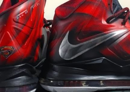 "THE SNEAKER ADDICT: Nike Lebron 10 ""Man Of Steel"" X Mache ..."